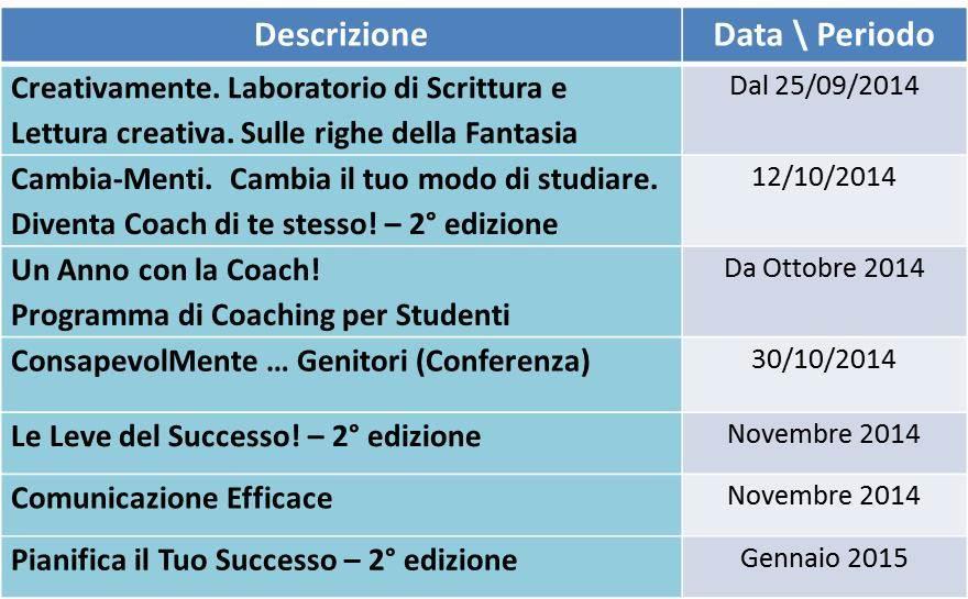 Programma Corsi 2014 - 3