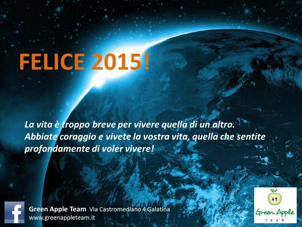 Felice 2015 Green Apple Team Art