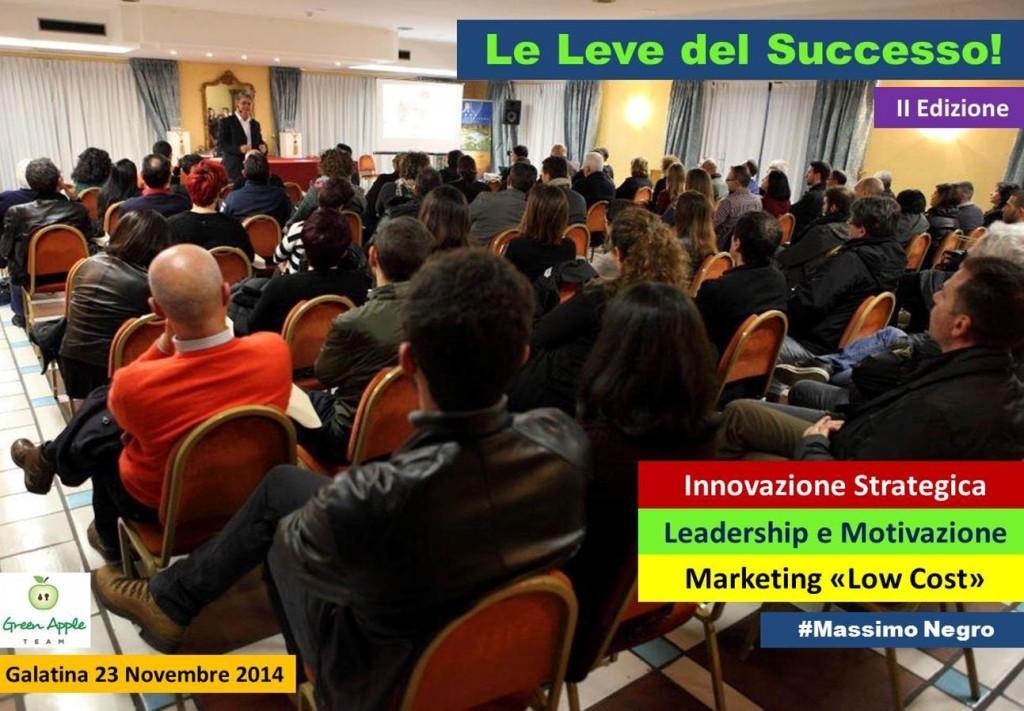 LE LEVE DEL SUCCESSO MASSIMO NEGRO