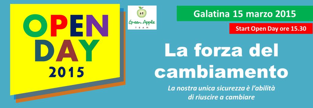 Open Day Green Apple Team Coaching Consulenza Formazione Lecce Puglia