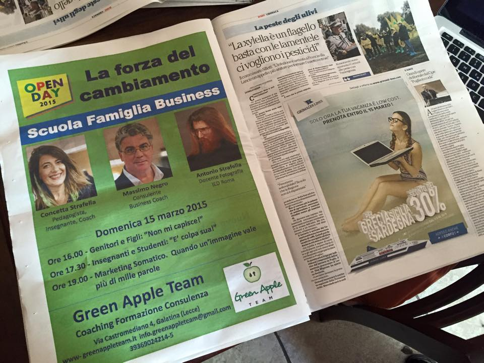 04 Green Apple Team Coaching Formazione